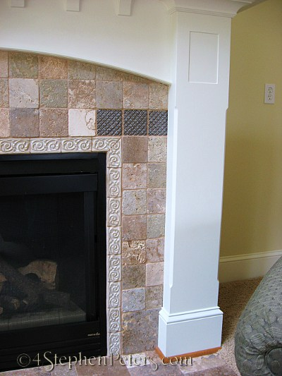Tile fireplace 2231
